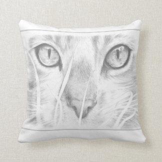 猫の顔の枕 クッション