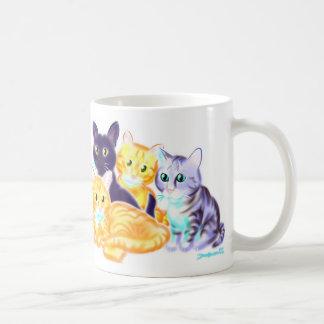 猫の風刺漫画のマグ コーヒーマグカップ