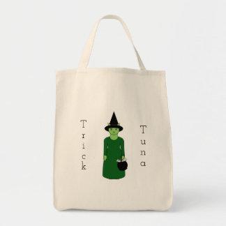 猫の魔法使いのトリックまたは御馳走バッグ トートバッグ