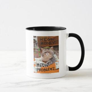 猫の鳴き声のお金、猫の鳴き声Problemz マグカップ