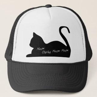 猫の鳴き声のChickaの猫の鳴き声の猫の鳴き声 キャップ
