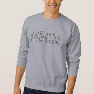 猫の鳴き声 スウェットシャツ