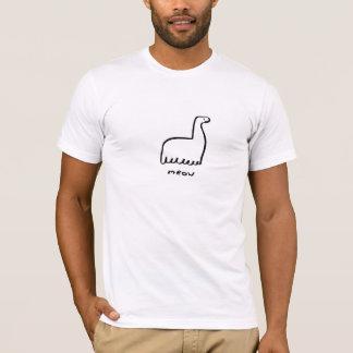 猫の鳴き声 Tシャツ