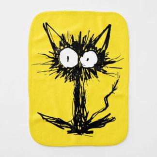 猫の黄色緑を驚かして下さい バープクロス