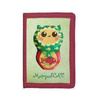 猫のMatryoshkaの人形