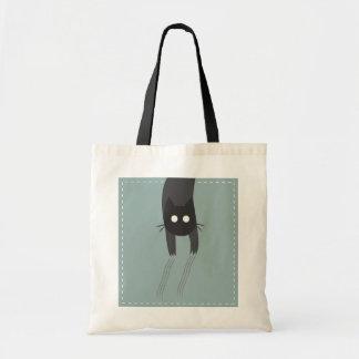 猫はバッグにあります トートバッグ