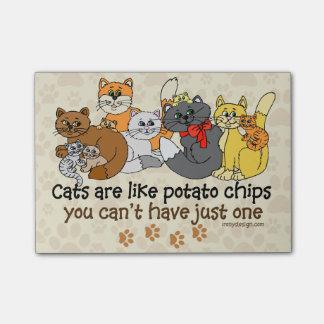 猫はポテトチップのようです ポストイット