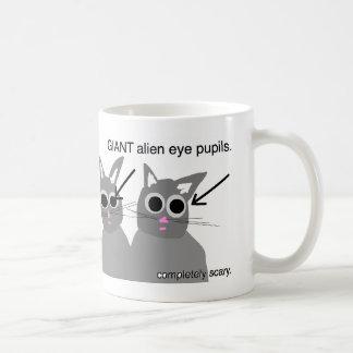猫は恐いマグです コーヒーマグカップ