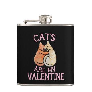 猫は私のバレンタインのバレンタインデーです フラスク