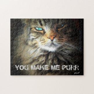 猫は私をのどを鳴らさせることを言います ジグソーパズル
