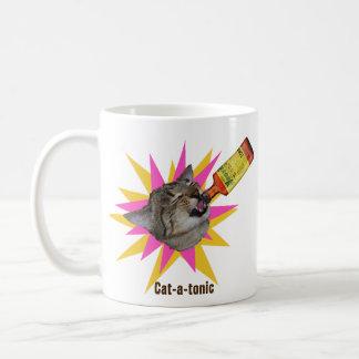 猫トニックの朝 コーヒーマグカップ