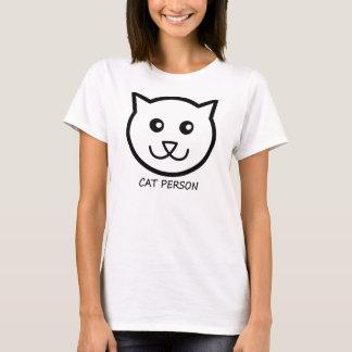 """""""猫人""""のexpresshionのTシャツ Tシャツ"""