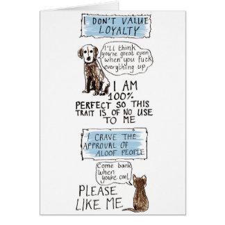 猫人 カード