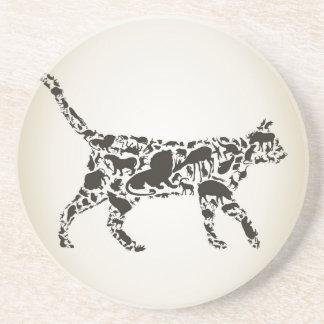 猫動物 コースター