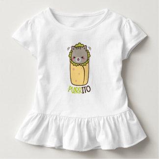 猫及びブリトーPurritp トドラーTシャツ