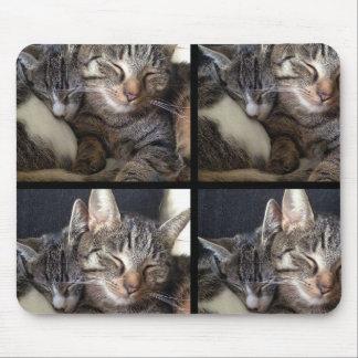 猫及びマウス マウスパッド