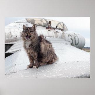 猫及びMiG ポスター