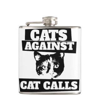 猫呼出しに対する猫 フラスク