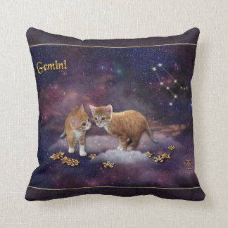 猫好きのためのジェミニ クッション