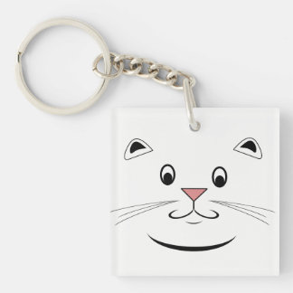 猫好きのギフト キーホルダー