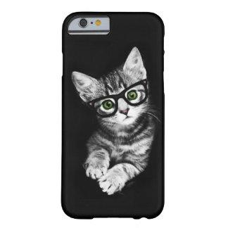 猫好きのヒップスターの子猫のiPhone6ケース Barely There iPhone 6 ケース