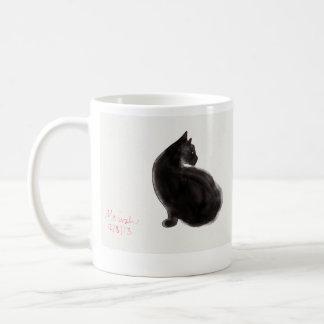 猫好きのマグ コーヒーマグカップ