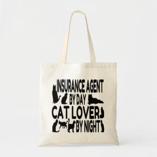 猫好きの保険代理店 トートバッグ