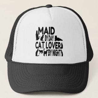 猫好きの女中 キャップ