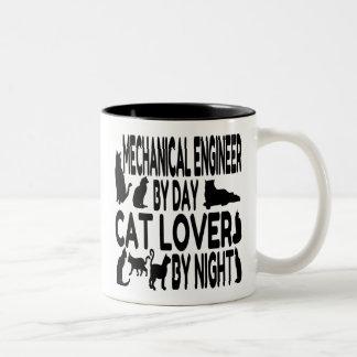 猫好きの機械工学者 ツートーンマグカップ
