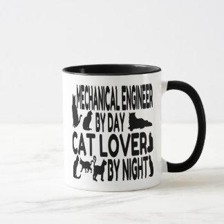 猫好きの機械工学者 マグカップ