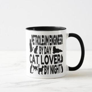 猫好きの石油エンジニア マグカップ