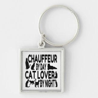猫好きの運転者 キーホルダー