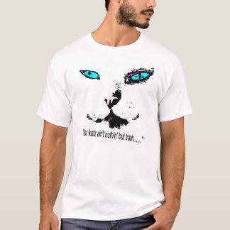 猫好き- Melvin猫-引用文-ワイシャツ Tシャツ