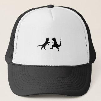 猫対tレックス キャップ