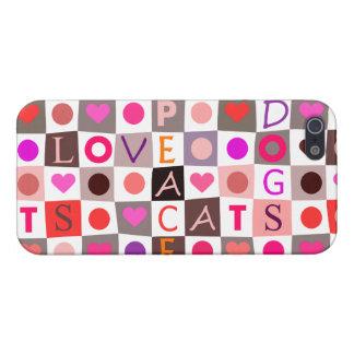 猫犬愛平和 iPhone 5 CASE