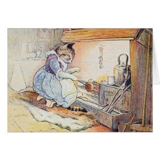 猫猫は火によって坐ります カード