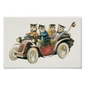 猫車ポスター ポスター