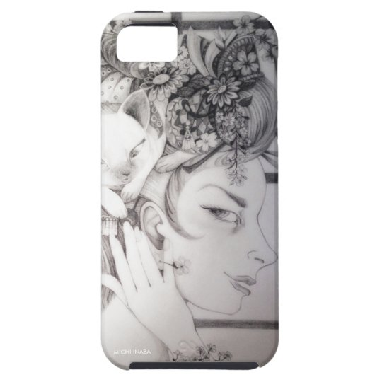 猫髪 桜Cat's Hair Sakura iPhone SE/5/5s ケース