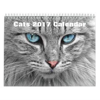 猫2017年 カレンダー