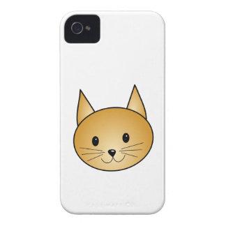 猫。 かわいいショウガのキティ Case-Mate iPhone 4 ケース