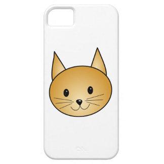 猫。 かわいいショウガのキティ iPhone SE/5/5s ケース