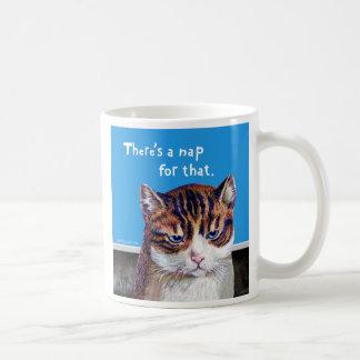 """猫""""それのための昼寝"""" コーヒーマグカップ"""