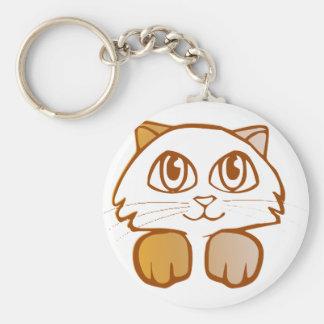 猫 キーホルダー