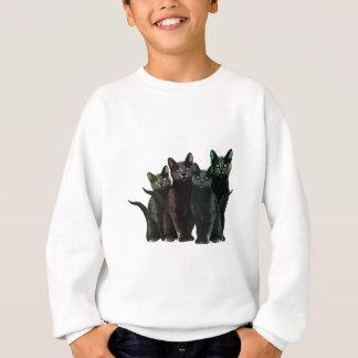 猫 スウェットシャツ
