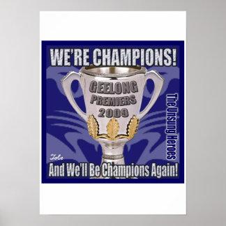 猫-チャンピオン2009年 ポスター