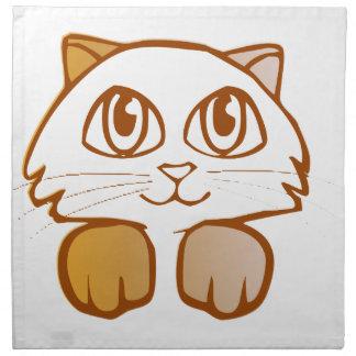 猫 ナプキンクロス
