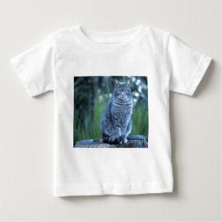 猫 ベビーTシャツ