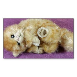 猫 マグネット名刺 (25枚パック)