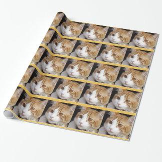 猫 ラッピングペーパー