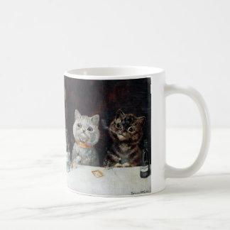 猫、ルイWain コーヒーマグカップ